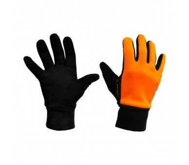 Guantes Sport Naranja Fluor y negro mujer