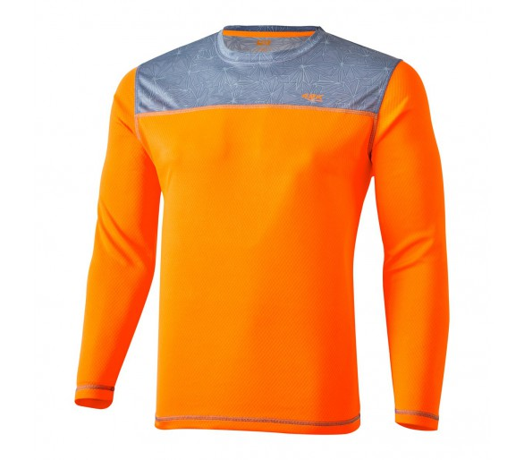 Camiseta técnica m/larga Aquarius Orange