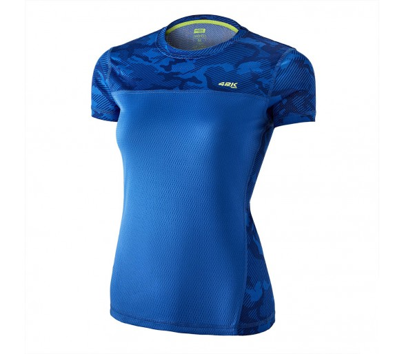 Camiseta 42K MIMET MUJER Electric Blue M/C-Camoufl