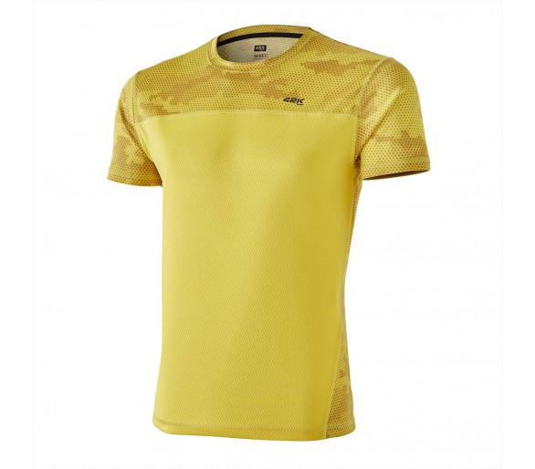 Camiseta 42K MIMET Ambar Yellow M/Corta-Hexagon