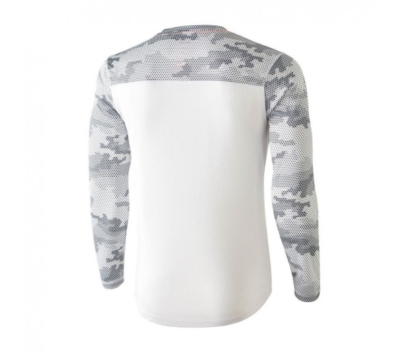 Camiseta camuflaje MIMET Winter color blanco, manga larga