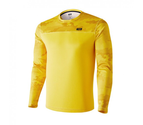 Camiseta 42K MIMET WINTER Ambar Yellow Manga Larga