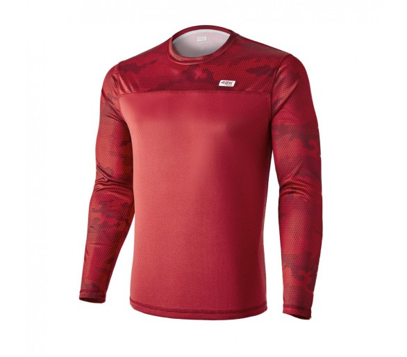 Camiseta técnica MIMET Winter ruby red