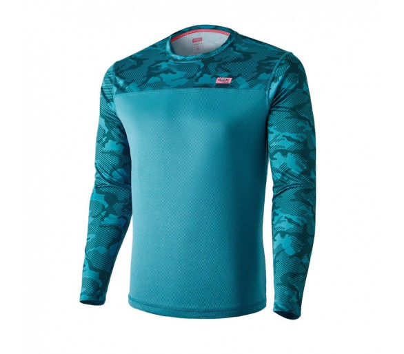 Camiseta camuflaje MIMET Winter blue ML