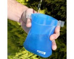 Vaso trail NEPAL plegable 170ml azul