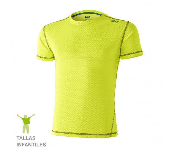Camiseta niño Lunar KIDS Fluor Yellow