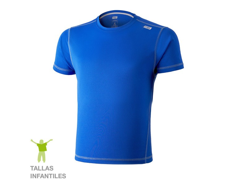 Camiseta técnica  Lunar KIDS PacificBlue