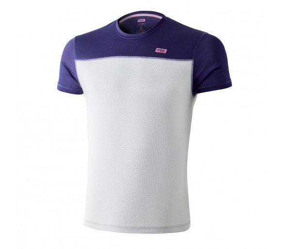 Camiseta técnica SYRUSS grape (color blanco / morado)