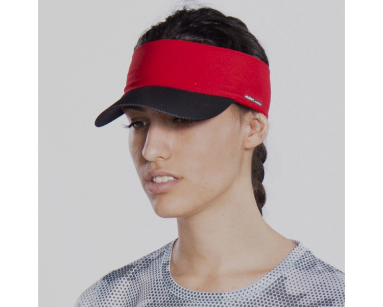 Visera técnica 42k KAILASH Red/Black