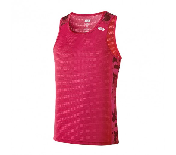 Camiseta técnica ARES Summer man raspberry