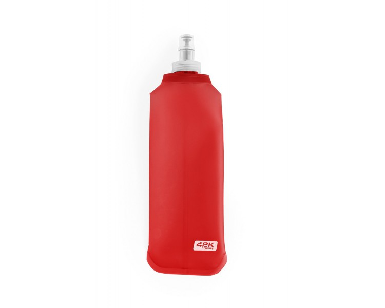 Botella soft flask ATLAS ROJO 500 ml