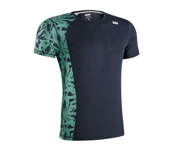 Camiseta 42K LOTUS Midnight Blue M.Corta