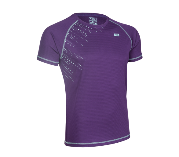 Camiseta Matrix Morada Man