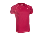 Camiseta Matrix Rojo Cerise Man