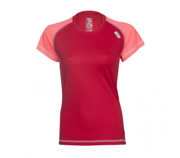 Camiseta Nexus Roja Woman