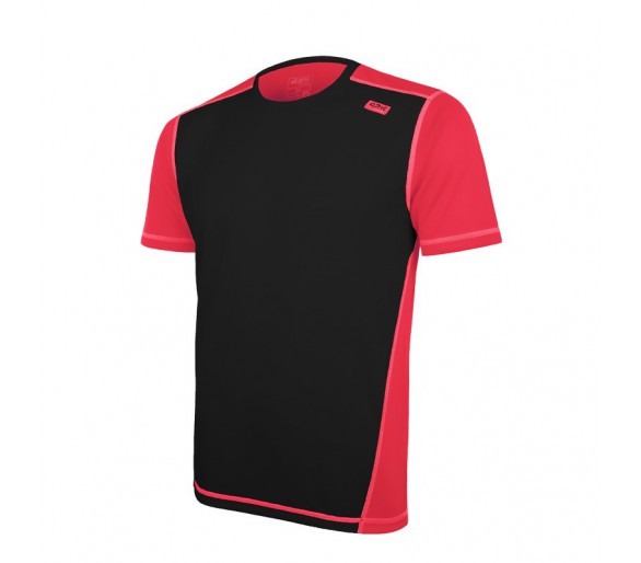 Camiseta Club C Man Negro-Fresa