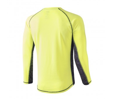 Camiseta Xion Winter Amarillo Fluor Manga Larga