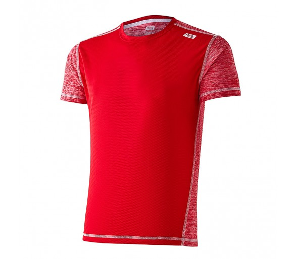 Camiseta running Xion2 Red m/corta