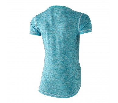 Camiseta running Xion2 Mujer Blue River