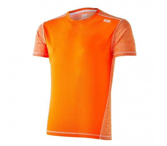 Camiseta running Xion2 fluor orange m/c