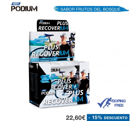 Recuperador muscular Plus Recoverium
