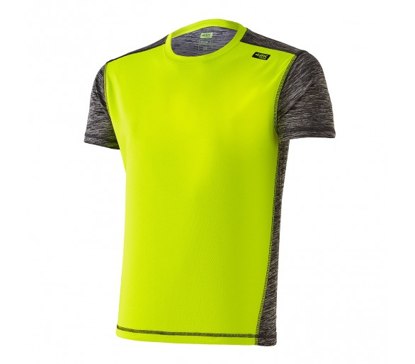 Camiseta running Xion2 Fluor Yellow M/C