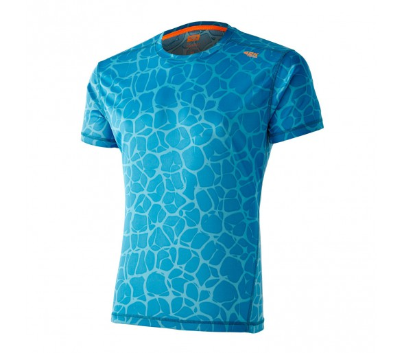 Camiseta 42K Aquarius neuronal Blue Indigo m-corta