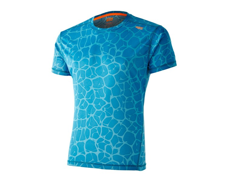 Camiseta Aquarius neuronal blue indigo