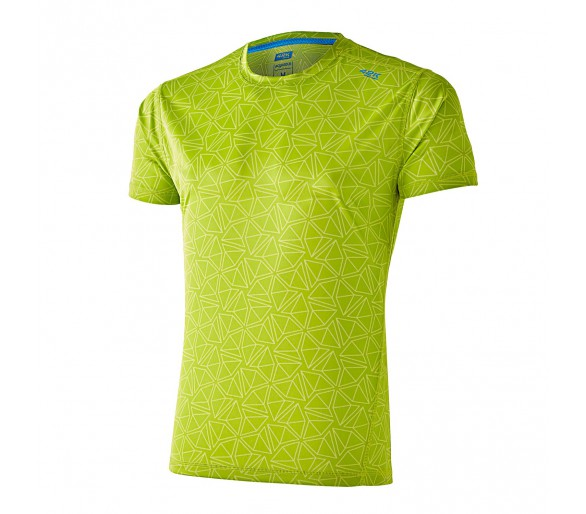 Camiseta Running Aquarius Triangle Lime