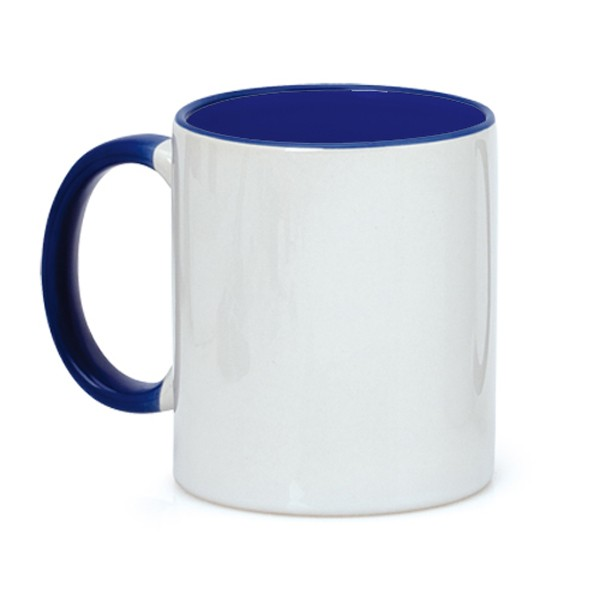 Taza porcelana asa color 42krunning for Tazas porcelana