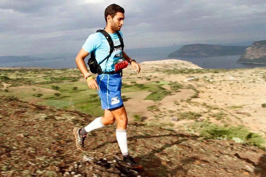 Corriendo por las montañas africanas