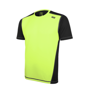 camiseta club c man en color amarillo y negro