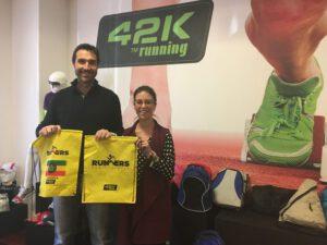 Jordi Reig en 42krunning y runners for etiopia