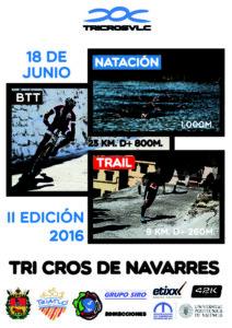 Cartel triatlón Navarrés