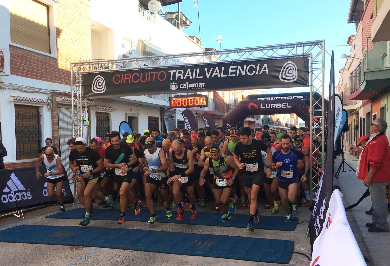 M s de 300 corredores participan en el trail de la llosa - El tiempo en la llosa de ranes ...