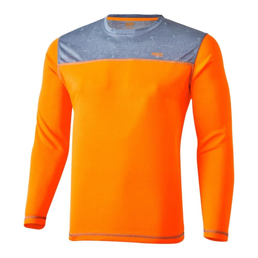 38ae64ff6 Camiseta de manga larga Aquarius Winter Fluor Orange - 42KRunning