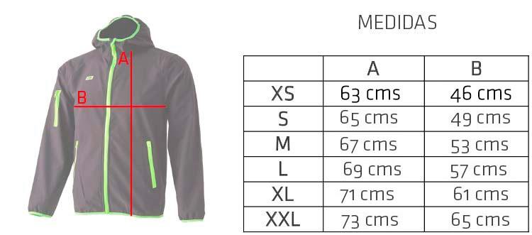 medidas-chaqueta-softshell