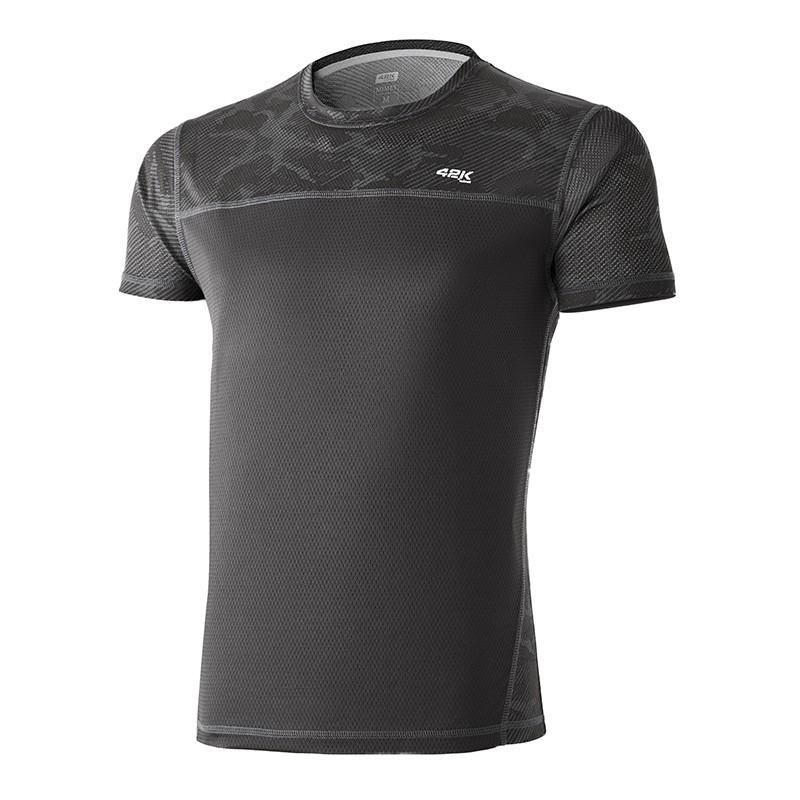 5709f771b Camiseta running MIMET Camouflage Slate Grey man - 42KRunning