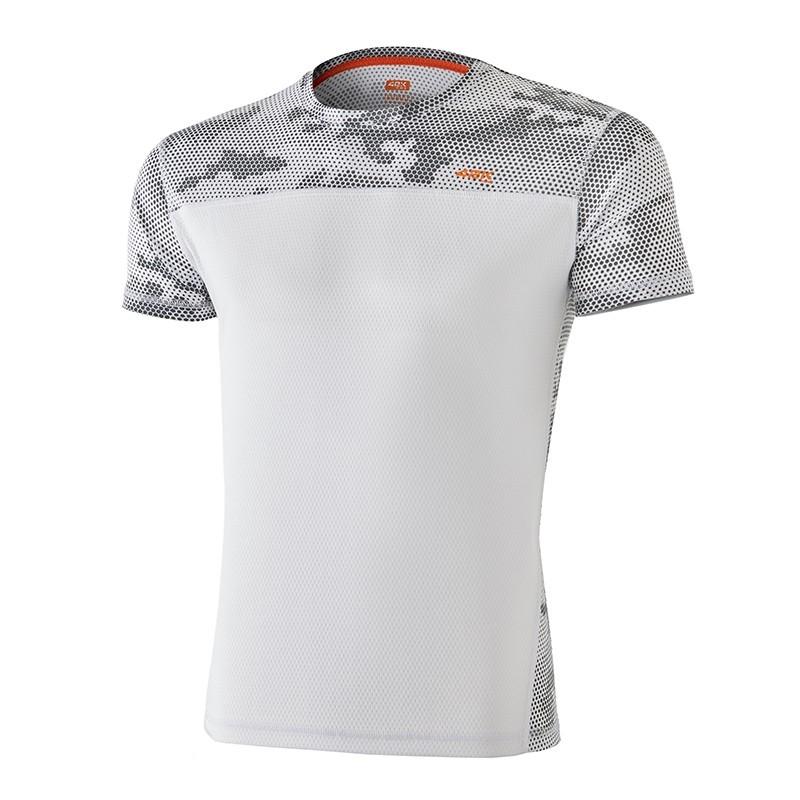 a11755ca9 Camiseta running MIMET Hexagon White man - 42KRunning